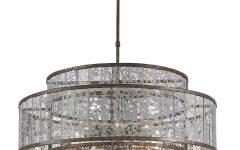 Mercury Glass Lighting Fixtures