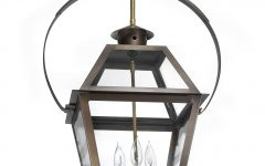 Outdoor Hanging Electric Lanterns