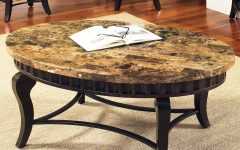 Round Granite Top Coffee Tables
