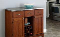 Buffets With Cherry Finish