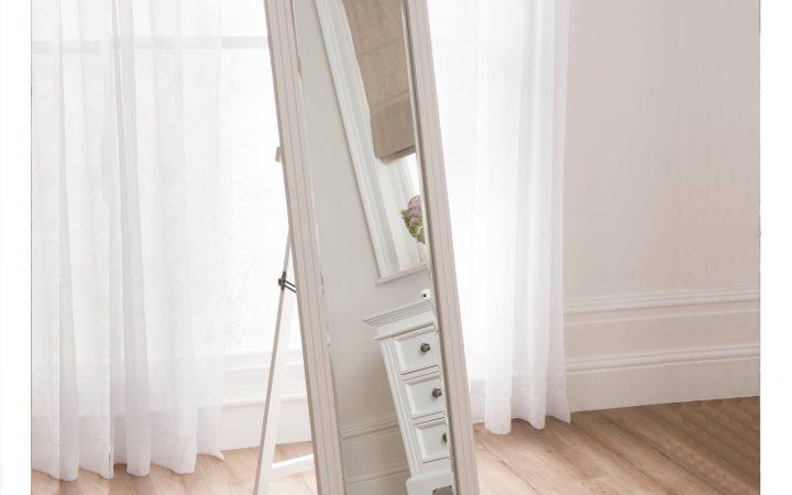 Cream Cheval Mirrors