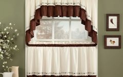 Cotton Lace 5-piece Window Tier and Swag Sets