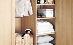 Childrens Double Rail Wardrobes