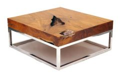 Luxury Modern Wooden Coffee Table