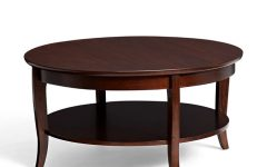2016 Mahogany Round Coffee Table Furniture