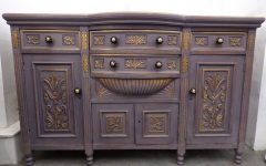 Purple Sideboards