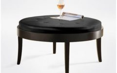Small Round Ottoman Coffee Table Interior
