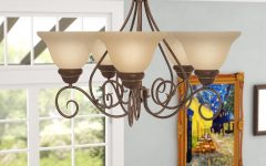Gaines 5-light Shaded Chandeliers