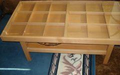 Stylish Clear Coffee Table Ikea