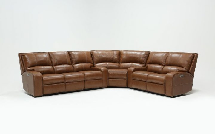 Clyde Saddle 3 Piece Power Reclining Sectionals with Power Headrest & Usb