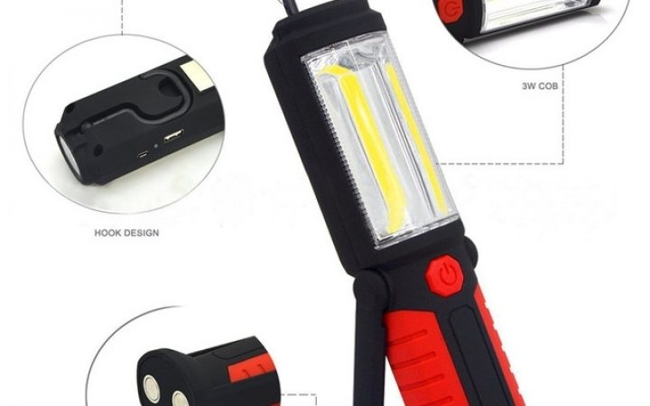 Outdoor Hanging Work Lights