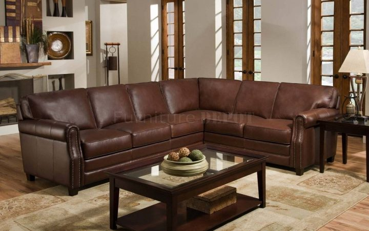 Traditional Leather Sectional Sofas