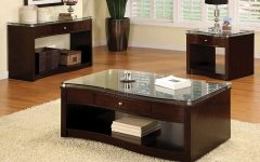 Coffee And End Table Set With Storage