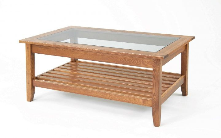 Antique Glass Pottery Barn Coffee Tables