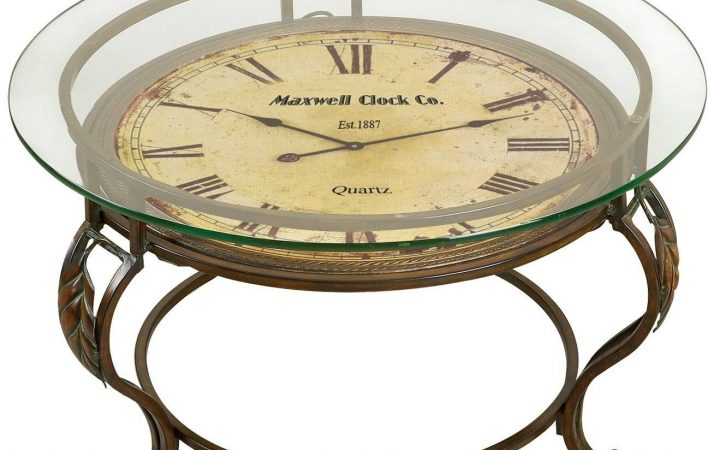 Coffee Tables with Clock Top