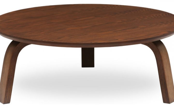 Modern Round Coffee Tables Wood