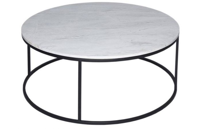 Marble and Metal Coffee Tables