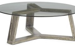 Small Coffee Table Round Glass Top