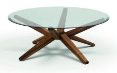 All Glass Top Round Coffee Table