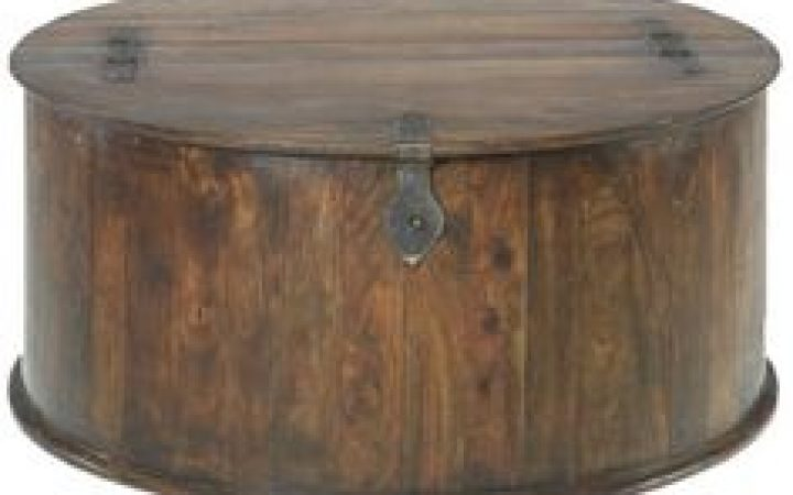 Small Round Storage Coffee Tables
