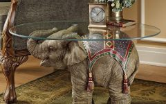 Elephant Glass Coffee Tables