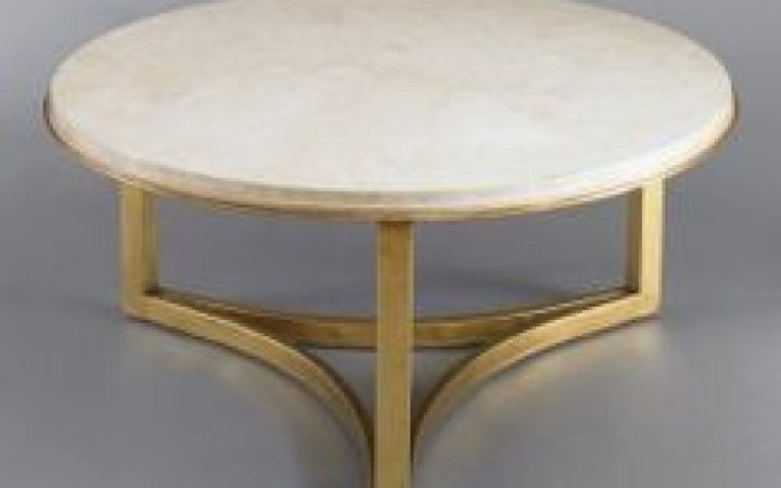 Round Marble Coffee Tables and End Tables