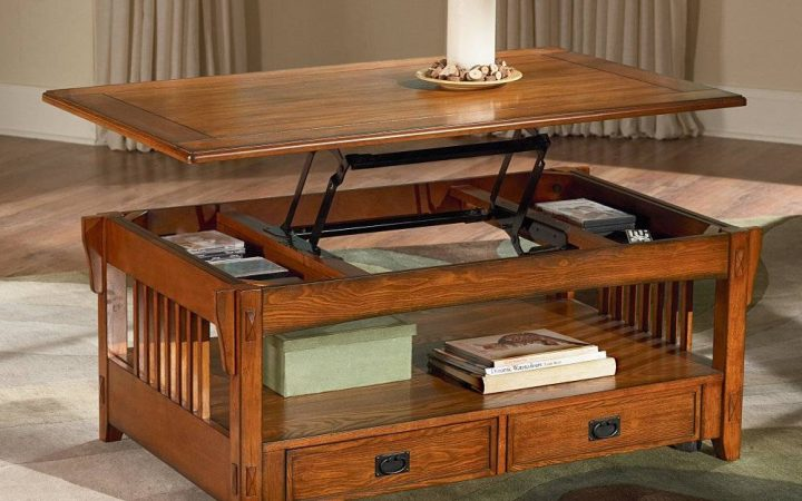 Swing Up Coffee Tables