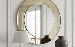 Round Art Deco Mirrors