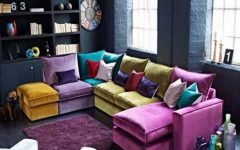 Colorful Sectional Sofas