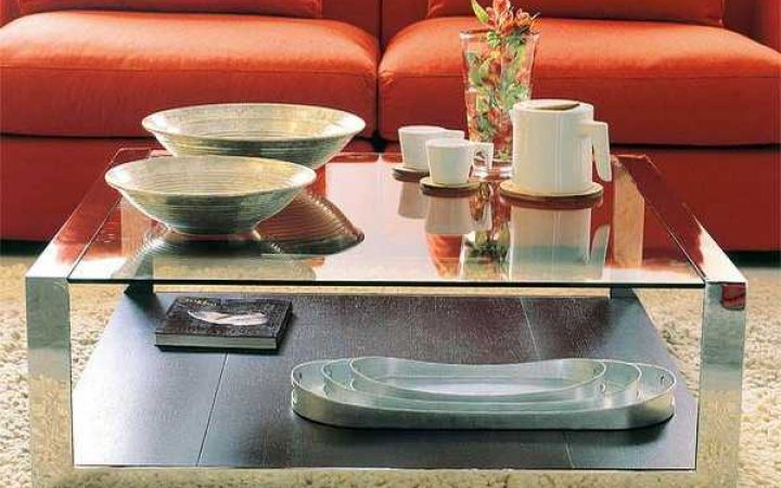 Modern Mirrored Coffee Tables