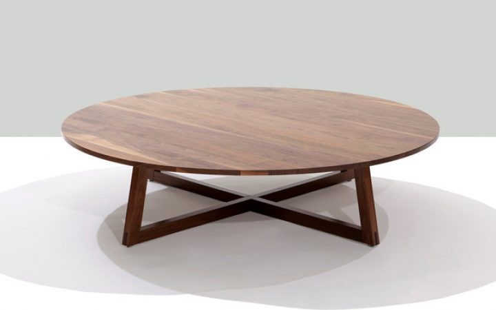 Low Round Coffee Table