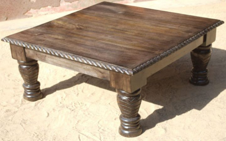 Rustic Square Coffee Tables