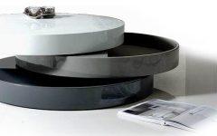 Modern Round Storage Coffee Table