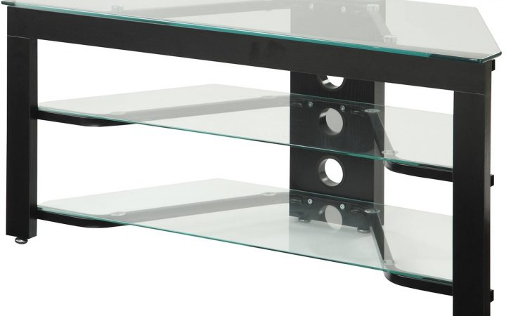 Black Glass Tv Stands