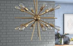 Corona 12-light Sputnik Chandeliers