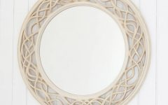Oval Cream Mirrors