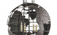 Earth Globe Lights Fixtures