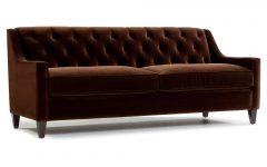 Brown Velvet Sofas
