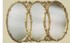 Triple Oval Wall Mirrors
