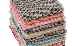 Cotton Throws for Sofas and Chairs
