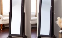 Free Standing Mirrors With Drawer
