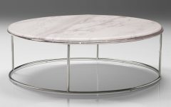 Smart Large Round Marble Top Coffee Tables