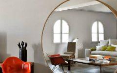 Huge Round Mirrors