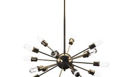 Defreitas 18-light Sputnik Chandeliers