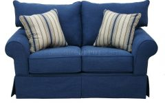 Denim Sofas and Loveseats