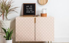 Pale Pink Bulbs Credenzas