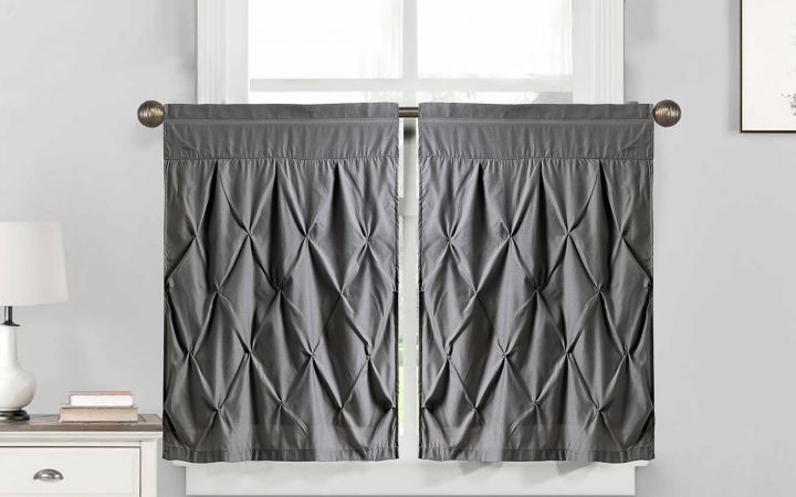 Hudson Pintuck Window Curtain Valances