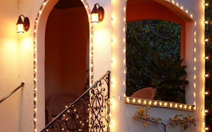 Hanging Outdoor Lights on Stucco