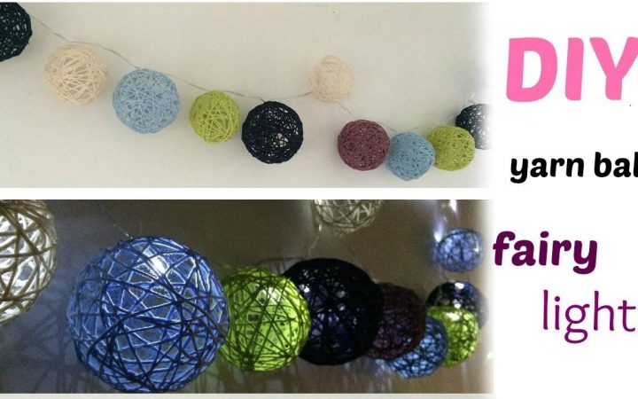 Diy Yarn Lights