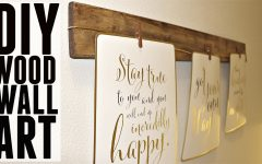 Wood Wall Art Diy